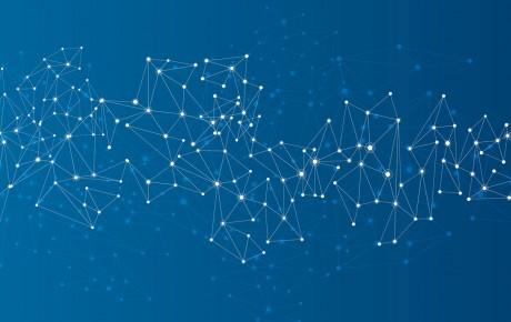 Social Network blau