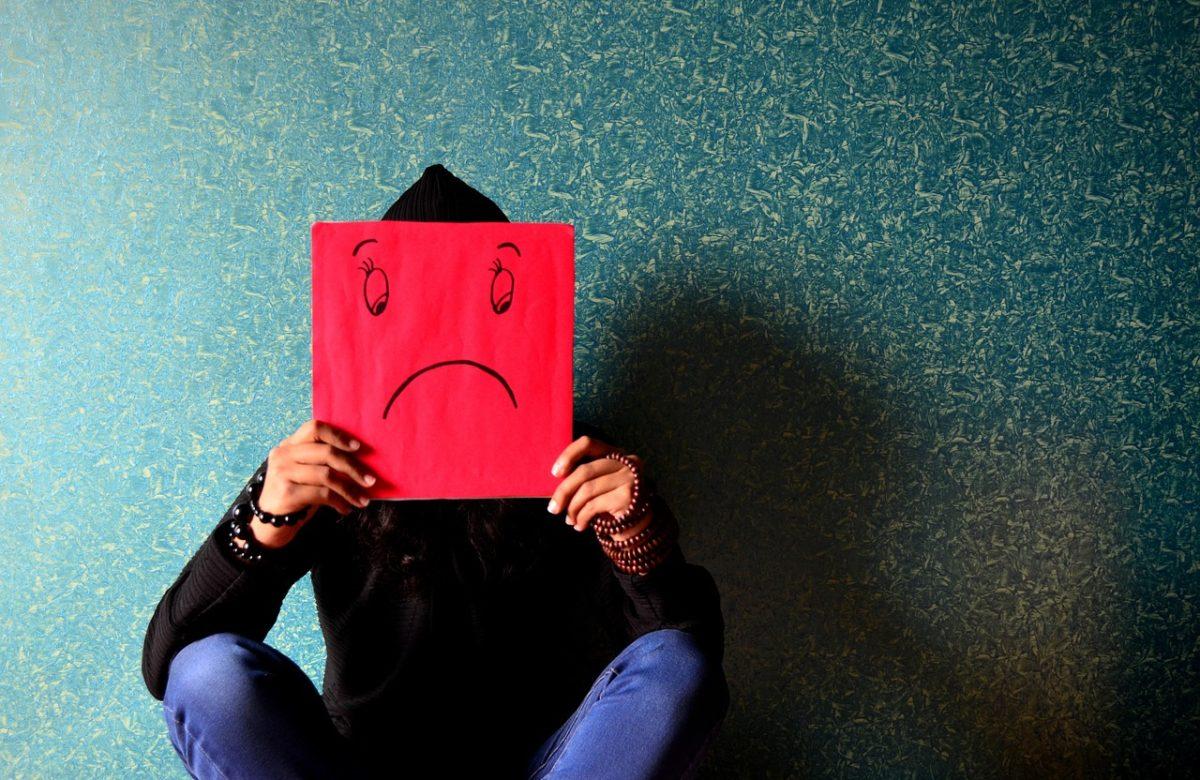 Trauer - Unzufriedener Mann