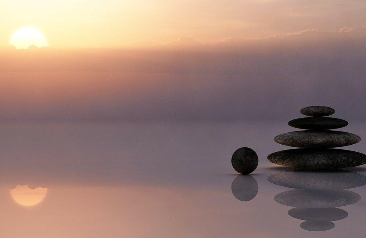 Gleichgewicht Steine